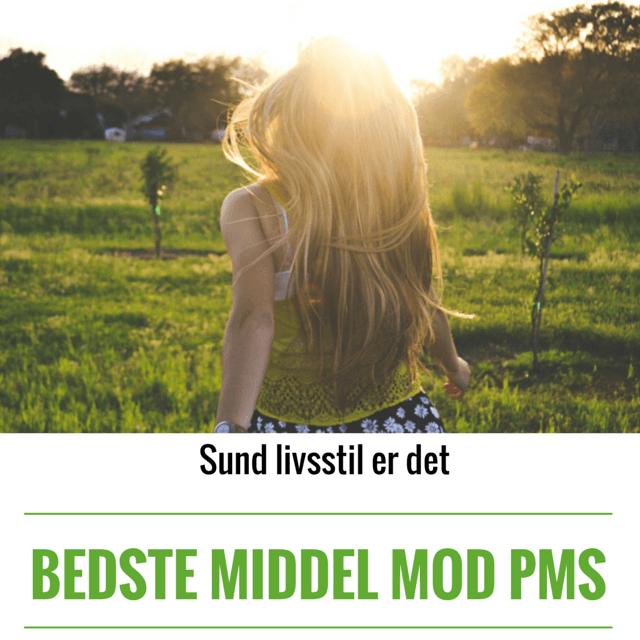 Sund livsstil er det bedste middel mod PMS