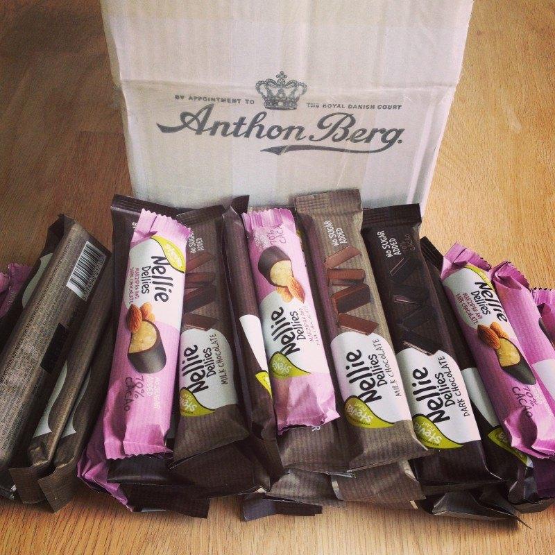 Nellie Dellies – test af chokoladebarer