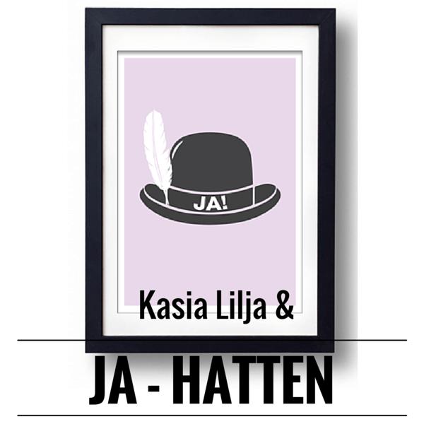 Kasia Lilja og JA-hatten