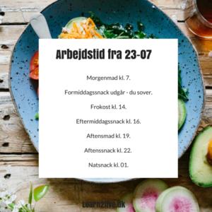 Sådan planlægger du dine måltider og lever sundt med skiftende arbejdstider