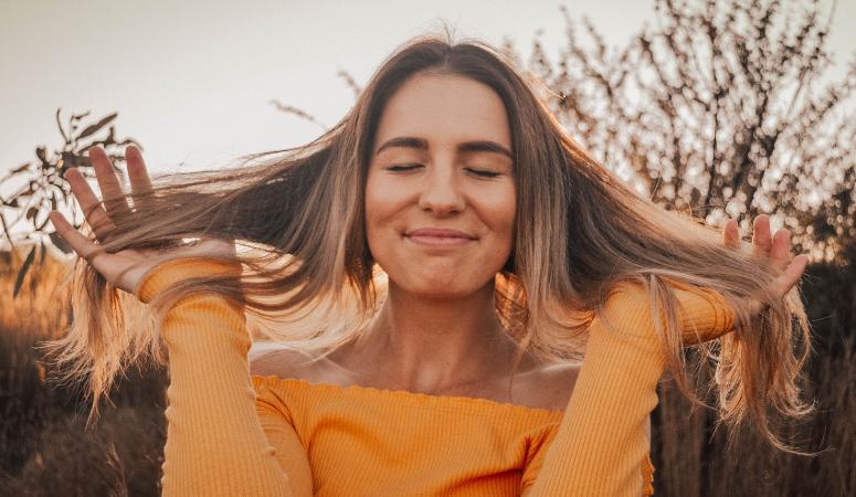 lær at tænke positivt og bliv gladere